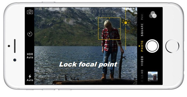 lock focal point